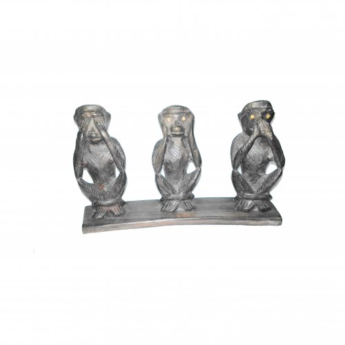 THREE FACE MONKEYS
